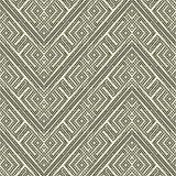 Ripetizione delle mattonelle geometriche Fotografia Stock Libera da Diritti