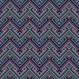 Ripetizione delle mattonelle geometriche Immagine Stock Libera da Diritti