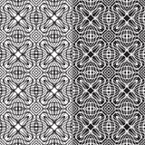 Ripetizione delle mattonelle geometriche Immagini Stock Libere da Diritti