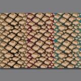 Ripetizione di struttura del modello della pelle di serpente senza cuciture Stampa d'avanguardia di modo, fondo Ornamento grafico illustrazione vettoriale