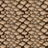 Ripetizione di struttura del modello della pelle di serpente senza cuciture Stampa d'avanguardia di modo, fondo Ornamento grafico illustrazione di stock
