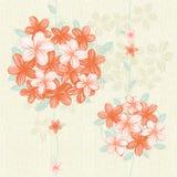 Ripetizione viva floreale Fotografia Stock Libera da Diritti