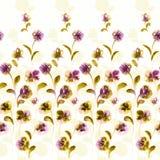 Ripetizione viva floreale Immagine Stock Libera da Diritti