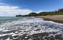 Ripia de la línea de la playa Fotos de archivo libres de regalías