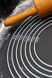 Ripiano del tavolo culinario Fotografia Stock Libera da Diritti