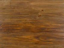 Ripiano del tavolo di legno rustico Fotografie Stock