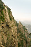 Ripid cliff of a nountain in china Stock Photo