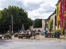 Ripley è un villaggio e una parrocchia civile in North Yorkshire in Inghilterra, alcune miglia a nord di Harrogate Una datazione  Fotografie Stock Libere da Diritti