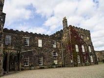 Ripley é uma vila e uma paróquia civil em North Yorkshire em Inglaterra, algumas milhas ao norte de Harrogate Um castelo que data Imagens de Stock Royalty Free