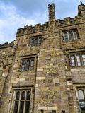 Ripley é uma vila e uma paróquia civil em North Yorkshire em Inglaterra, algumas milhas ao norte de Harrogate Um castelo que data Imagem de Stock