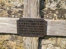 Ripley é uma vila e uma paróquia civil em North Yorkshire em Inglaterra, algumas milhas ao norte de Harrogate Um castelo que data Fotos de Stock