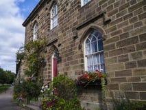 Ripley é uma vila e uma paróquia civil em North Yorkshire em Inglaterra, algumas milhas ao norte de Harrogate Um castelo que data Imagem de Stock Royalty Free