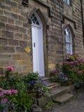 Ripley é uma vila e uma paróquia civil em North Yorkshire em Inglaterra, algumas milhas ao norte de Harrogate Um castelo que data Imagens de Stock
