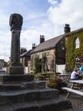 Ripley es un pueblo y una parroquia civil en North Yorkshire en Inglaterra, algunas millas al norte de Harrogate Una datación del Fotografía de archivo
