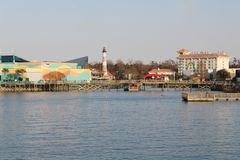 Ripley's Aquarium at the pier in Myrtle Beach stock photography