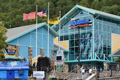Ripley`s Aquarium of the Smokies in Gatlinburg, Tennessee. In the USA Stock Photos