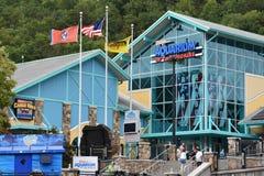 Ripley` s Aquarium van Smokies in Gatlinburg, Tennessee Stock Foto's