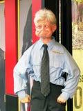 Ripley's Believe  It or Not. A bizarre looking wax figure stands Stock Image