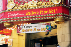 Ripley's believe it or not. Stock Photography