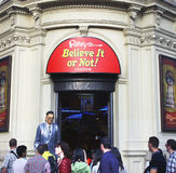 Ripley's believe it or not in London Stock Image