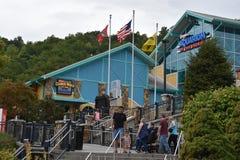 Ripley Smokies的` s水族馆在Gatlinburg,田纳西 免版税库存照片