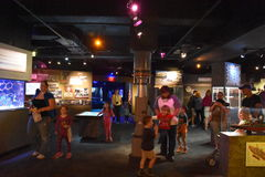 Ripleys Aquarium of the Smokies in Gatlinburg, Tennessee Stock Photo