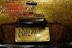 Ripleys gelooft of niet het royalty-vrije stock foto