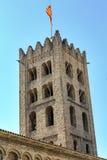 Ripoll νότιος πύργος μοναστηριών Στοκ Φωτογραφία