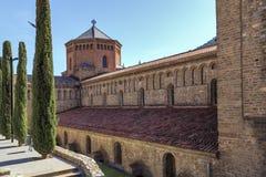 Ripoll monastery cimborio Royalty Free Stock Photos