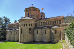 Ripoll monastery cimborio Stock Photo