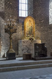 Ripoll monastery high altar Royalty Free Stock Photography