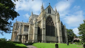 Ripon大教堂-英国- HD 免版税库存图片