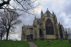 Ripon Cathedral. Amazing and wonderful Ripon Cathedral stock photo