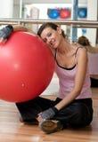 Riposando da Pilates Immagine Stock Libera da Diritti