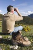 Riposando nelle montagne Immagine Stock Libera da Diritti
