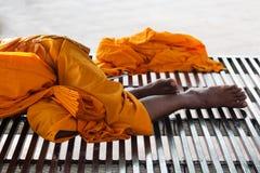 Riposo del monaco Immagini Stock Libere da Diritti