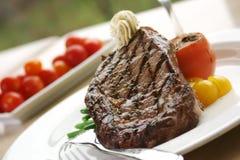 Rippe-Augen-Steak Lizenzfreie Stockbilder