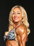 Ripped Blonde Bodybuilder Royalty Free Stock Photo