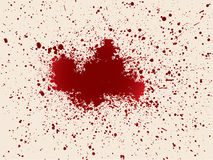 Ripped blood. Illustration with drops of blood royalty free stock image