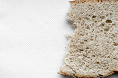 Ripped bread background Royalty Free Stock Photos