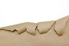 Ripped brown paper Royalty Free Stock Image