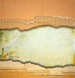 Ripped cardboard texture or background Stock Photos