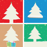 Ripped Christmas Tree Royalty Free Stock Photography