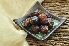 Ripped dates Royalty Free Stock Photography