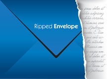 Ripped Envelope Royalty Free Stock Image