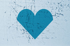 Ripped heart background Royalty Free Stock Image