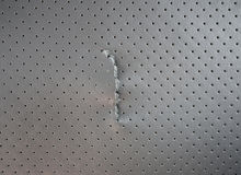 Ripped leather Royalty Free Stock Images