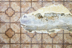 Ripped Linoleum Floor Royalty Free Stock Image