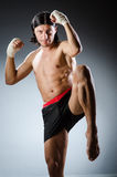 Ripped martial arts Royalty Free Stock Photo