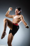Ripped martial arts Royalty Free Stock Images